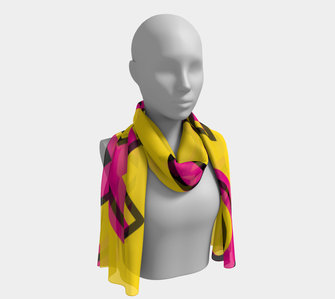XO80 (Illustration) Long Scarf preview #1