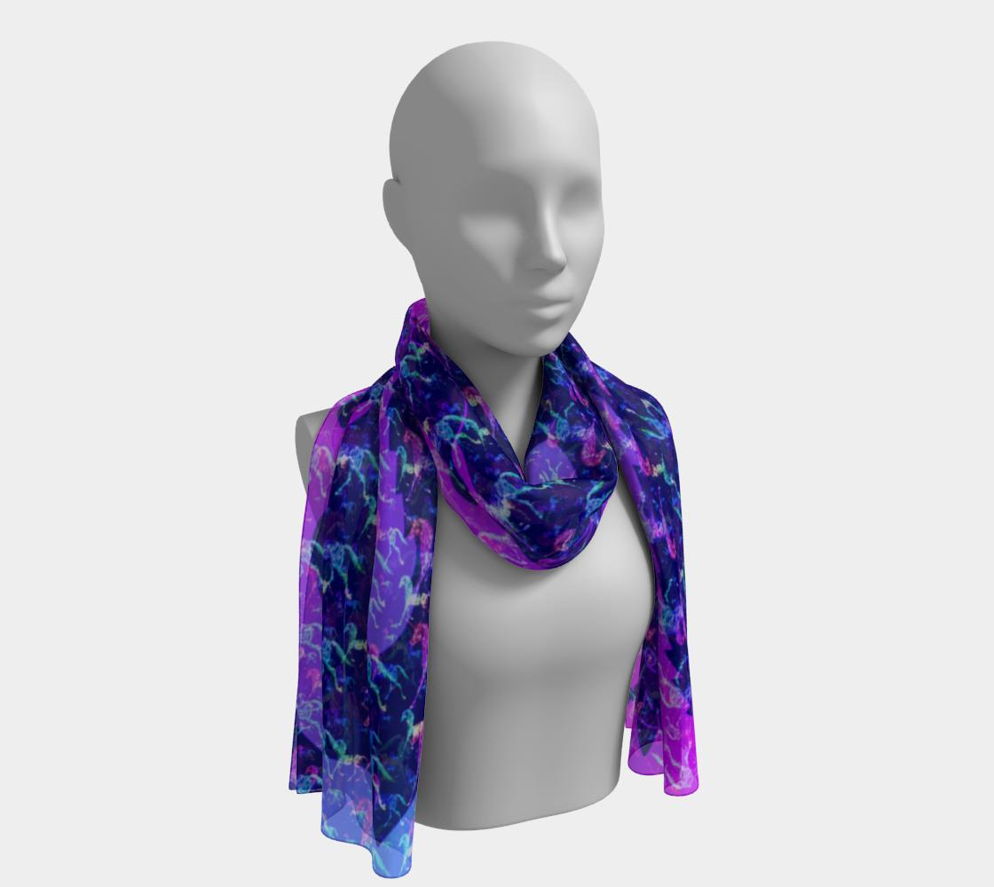 unicorn scarf long preview