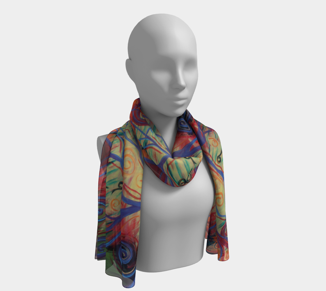 Tree of a Colourful Life Scarf preview