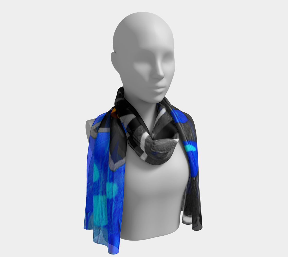 Graffiti 3 Long Scarf preview #1
