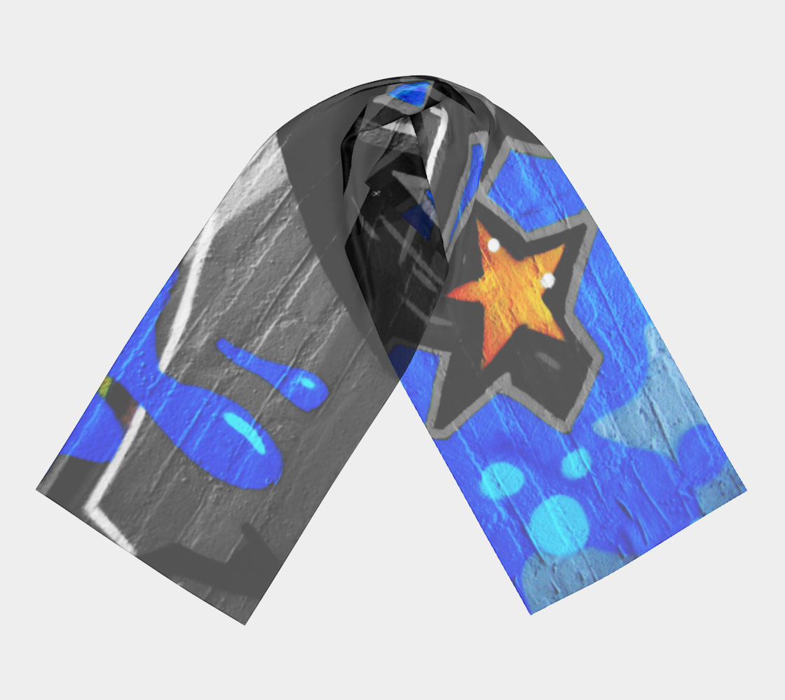 Graffiti 3 Long Scarf preview #3