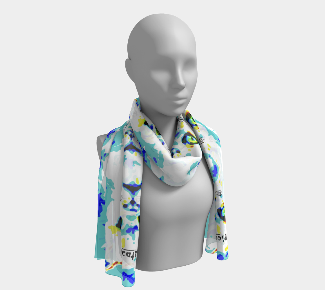 Picattso / Triple-Play Official Crazy Catnip Dance Long Scarf preview