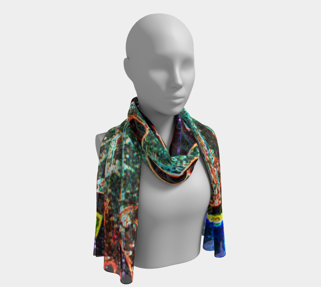 Graffiti 7 Long Scarf preview