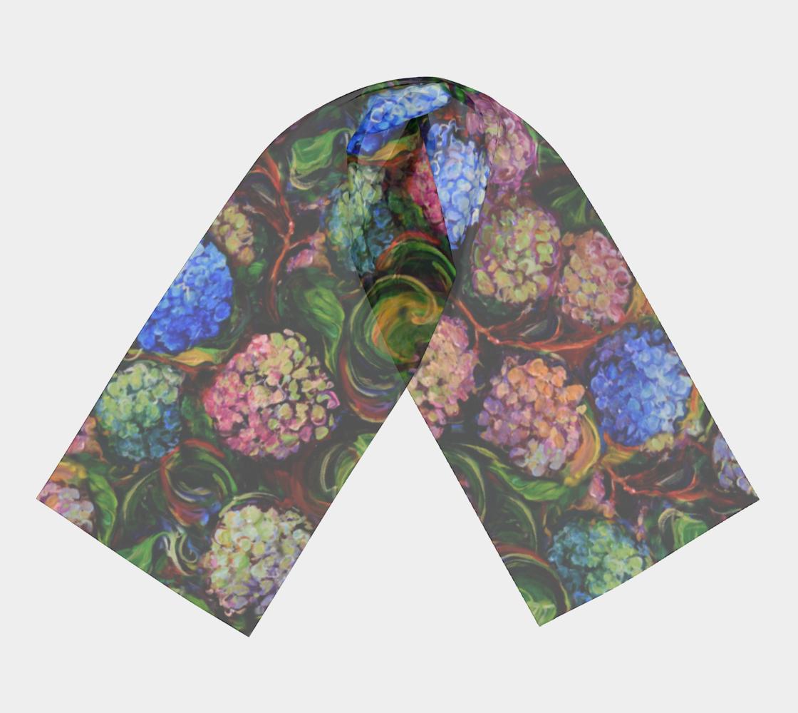 Hydrangeas - Painterly Style, Warm Tones preview #3