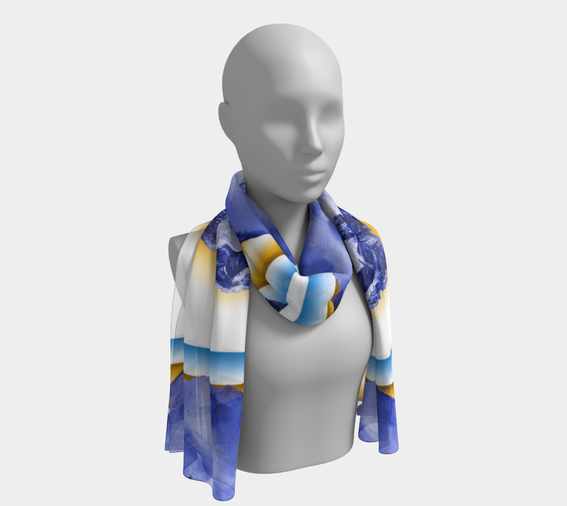 Stairway to Marilyn™ Dual-Frame Scarf preview