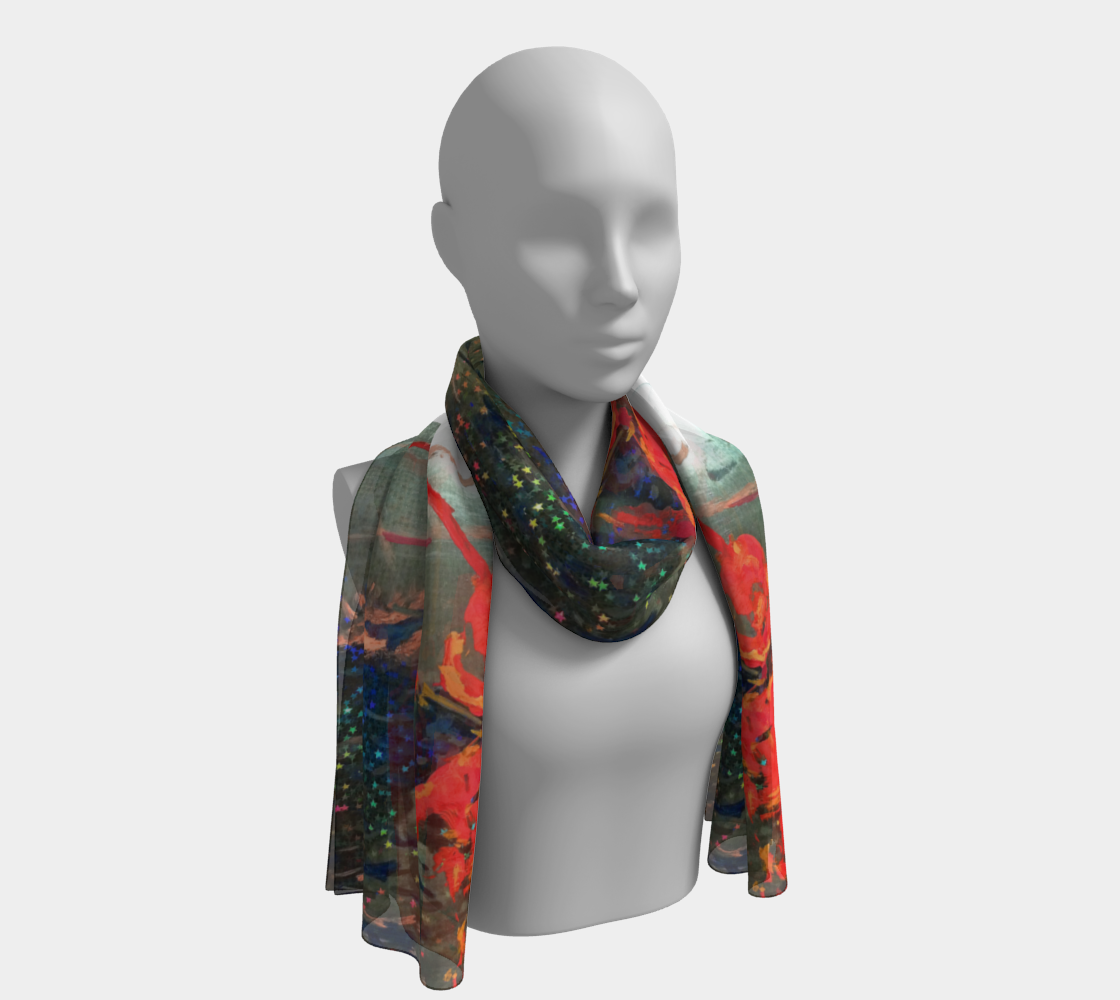 Star-Spangled Lucky Fishing Scarf preview #1