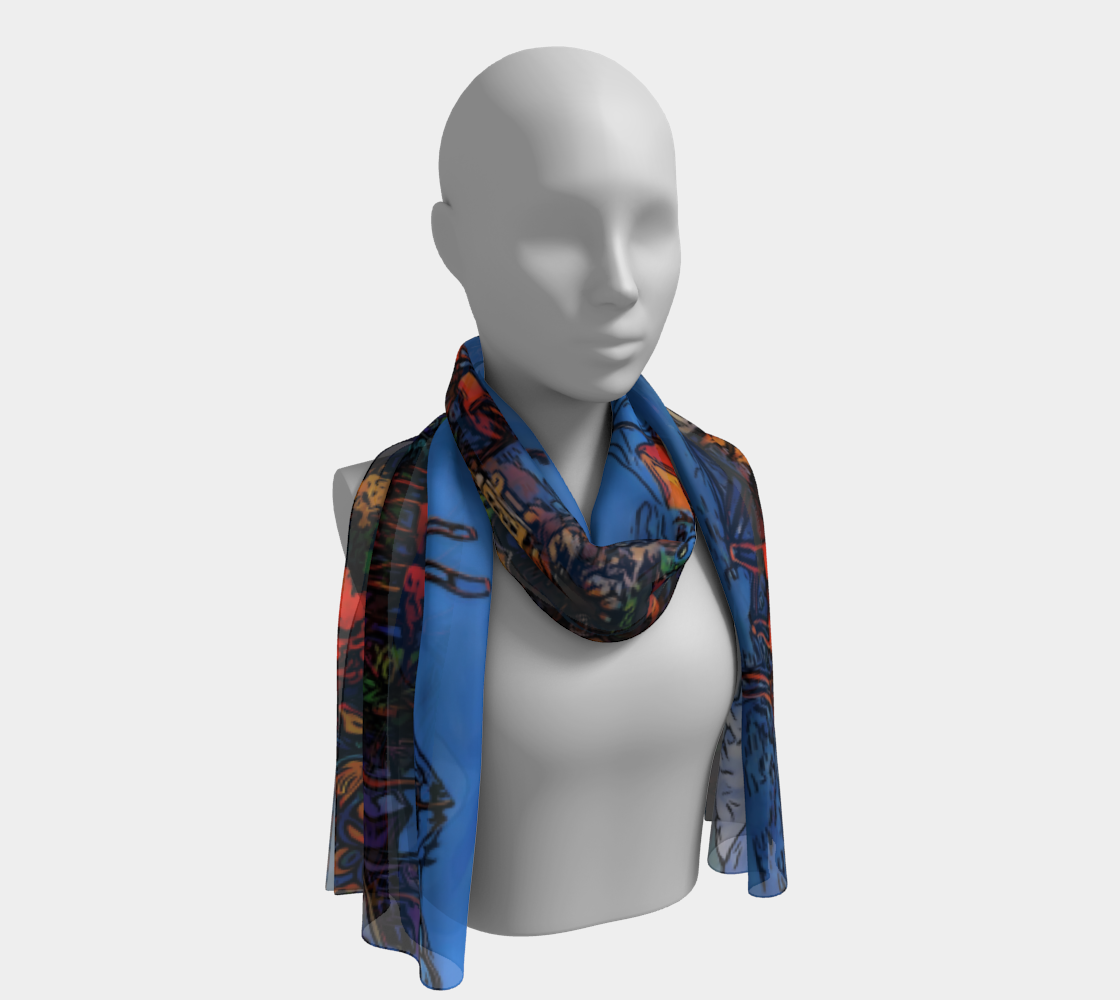 East Van Panorama Scarf II preview