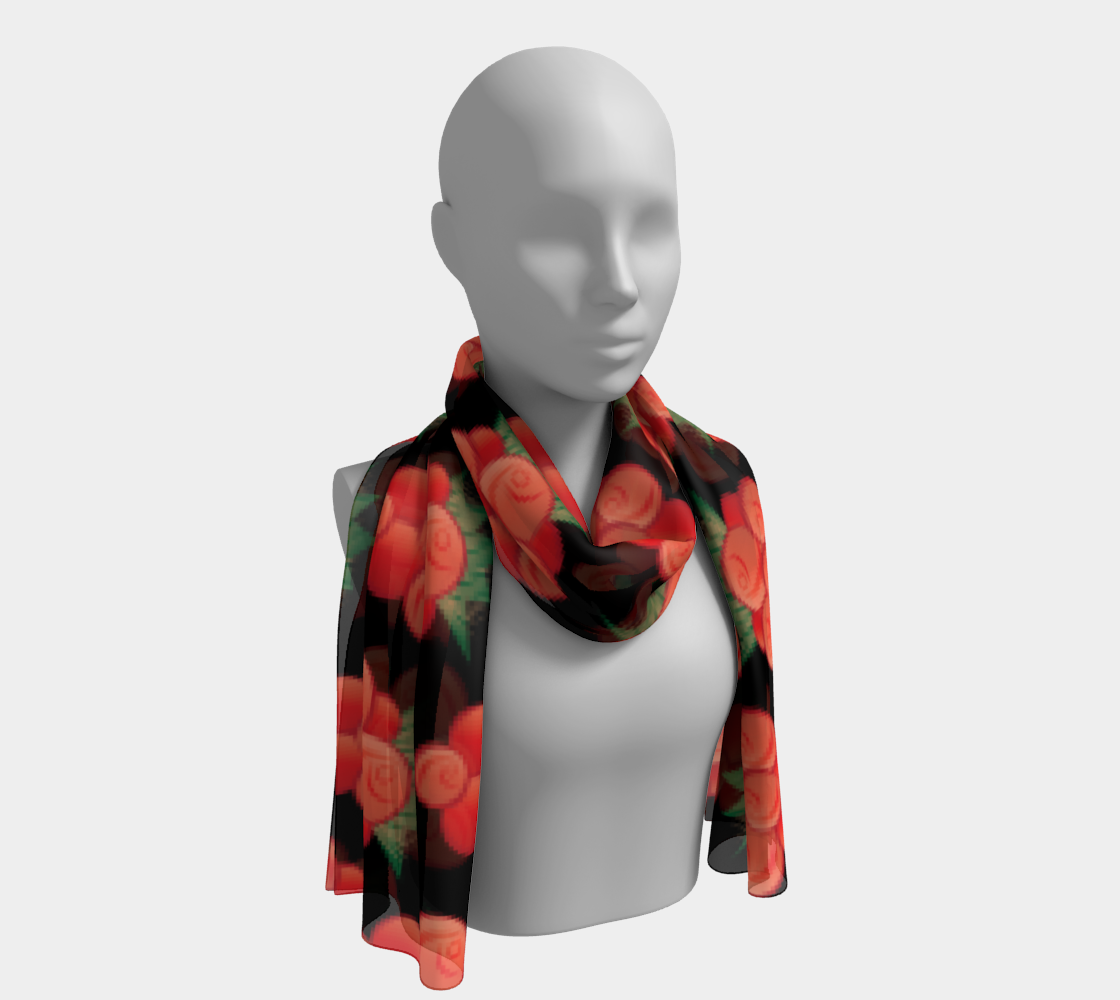 Salmonberry Long Scarf preview #1