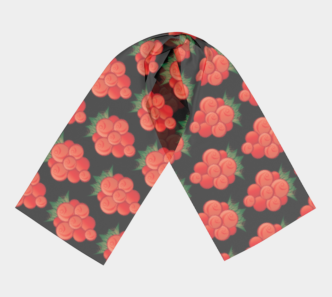 Salmonberry Long Scarf preview #3