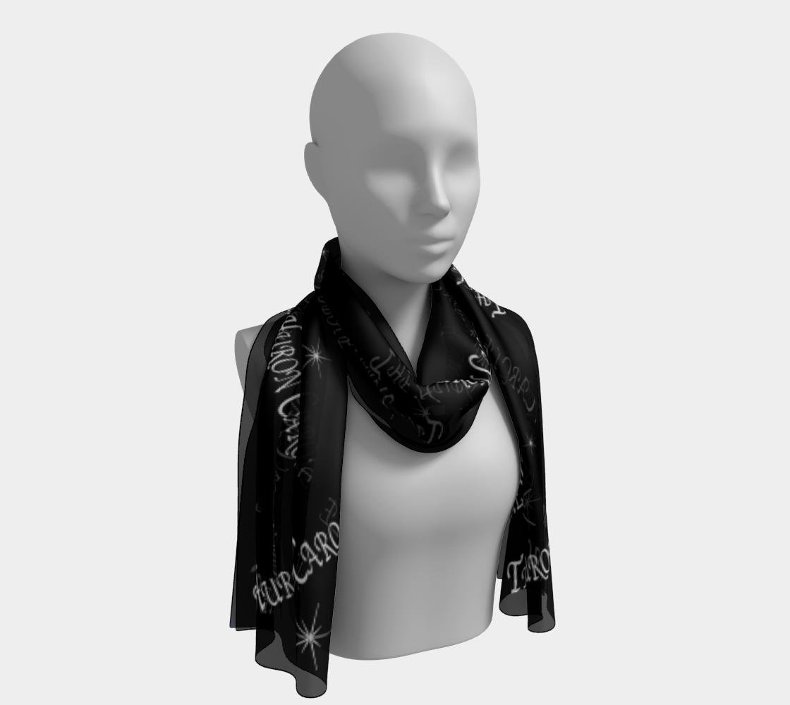 black and white scarf Huron Carole preview