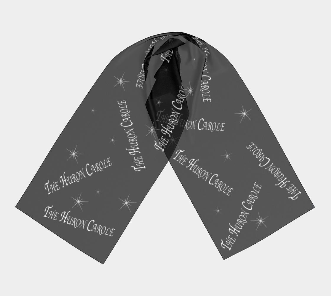 black and white scarf Huron Carole preview #3