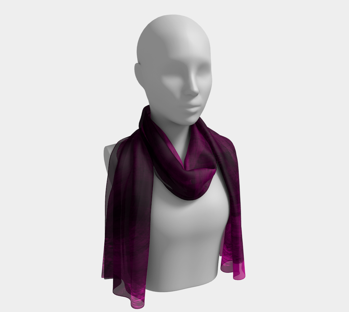 Pinkish Black Hole Long Scarf preview