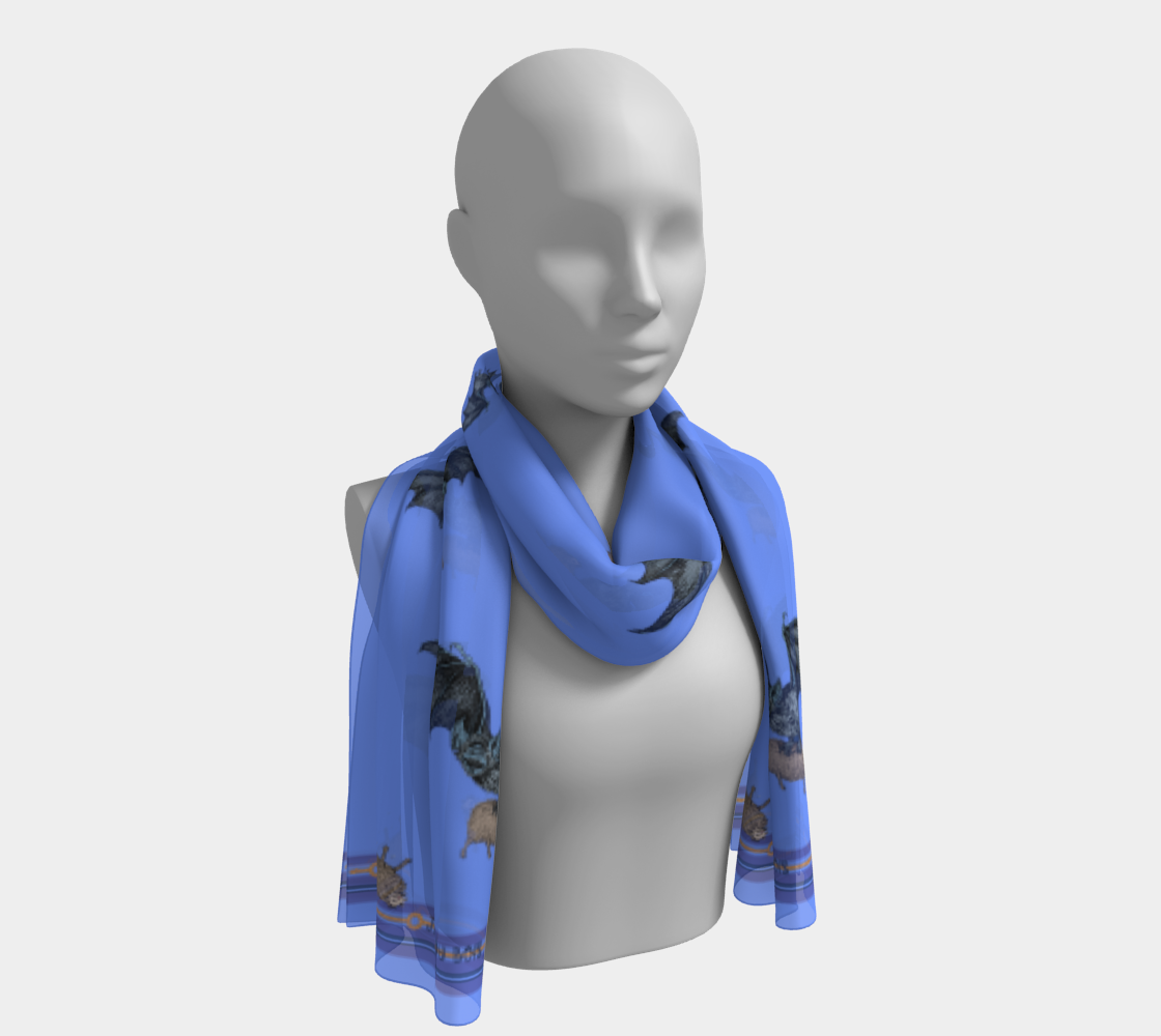 Long Vampire Scarf Pale preview