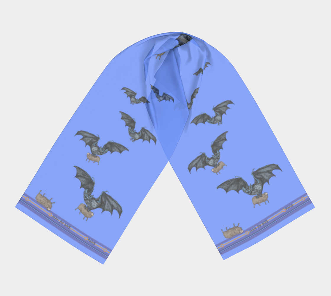 Long Vampire Scarf Pale preview #3