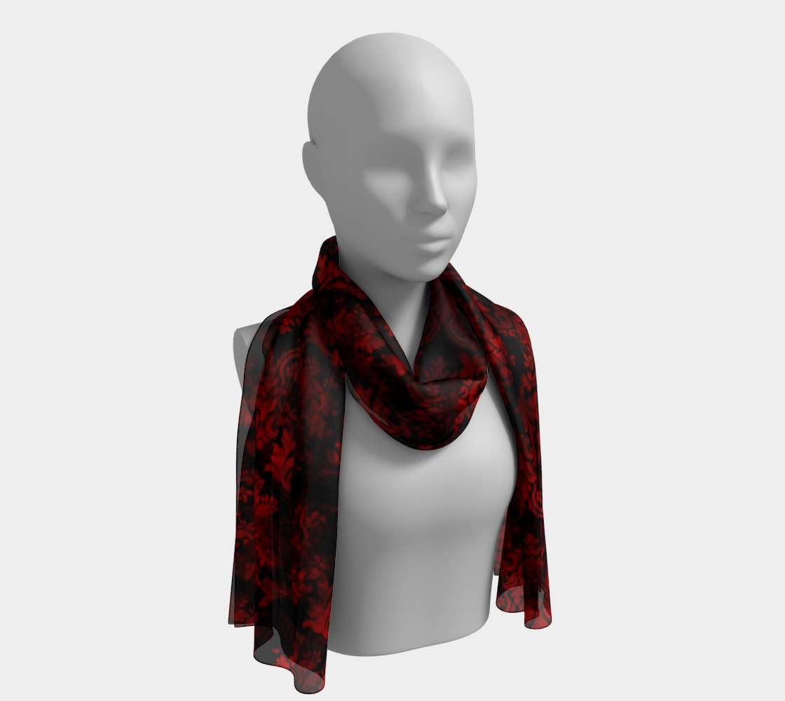Vampire Damask Long Scarf preview