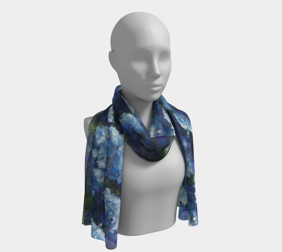 Blue Moon scarf preview