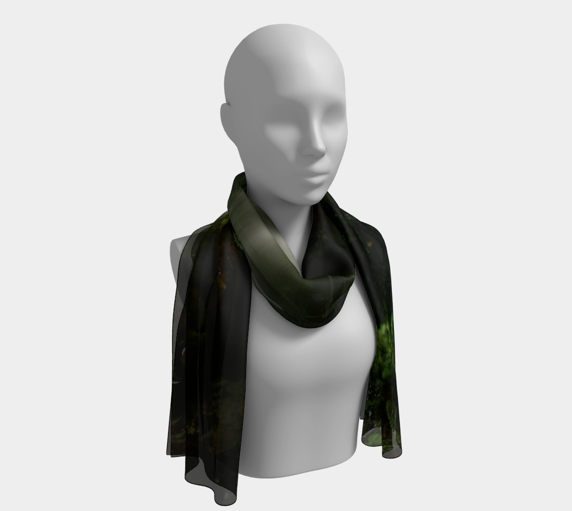 Fantasy Waterfall long scarf preview