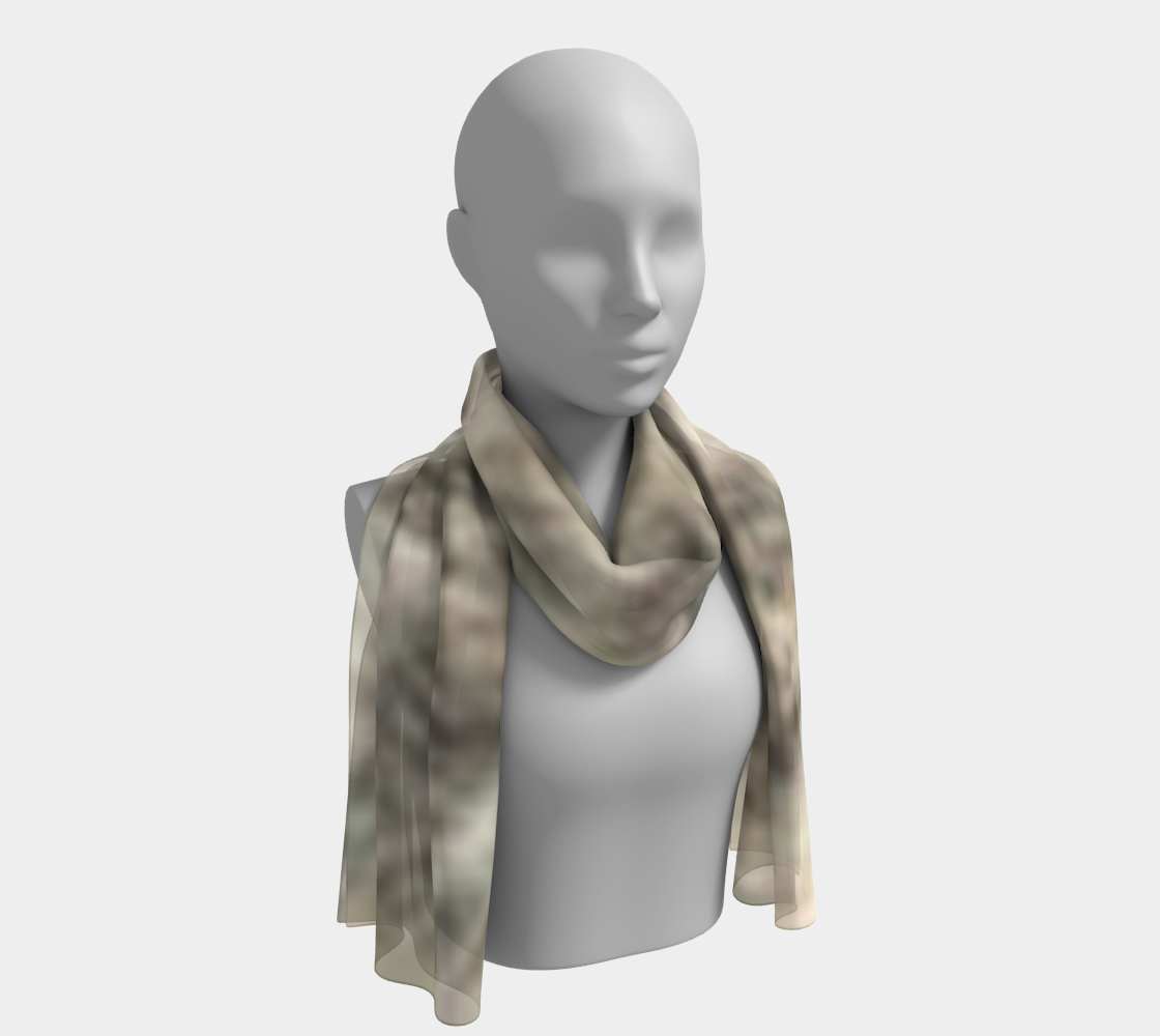 Fawn Brindle Fur long scarf preview