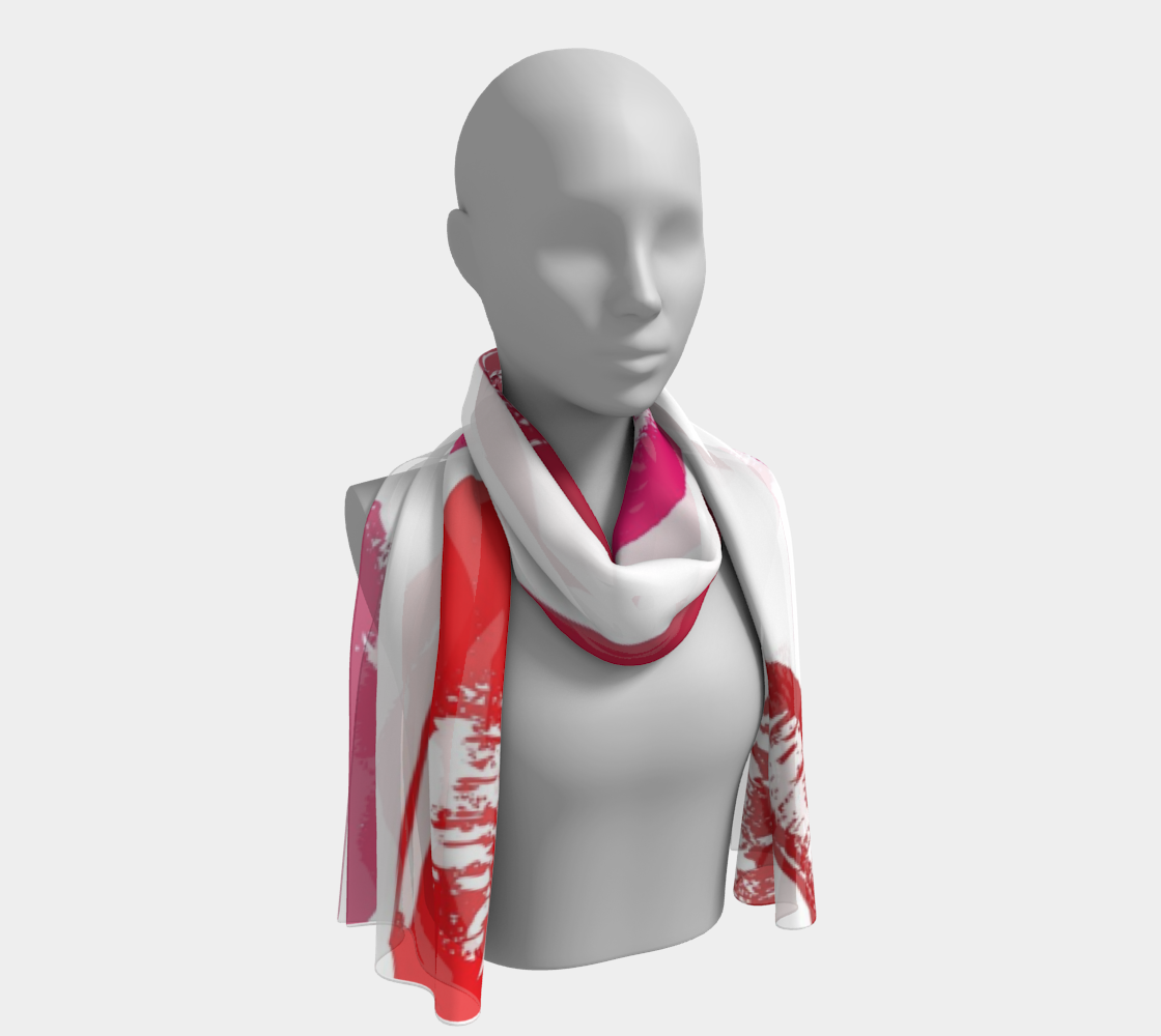 Forever Kisses long scarf preview