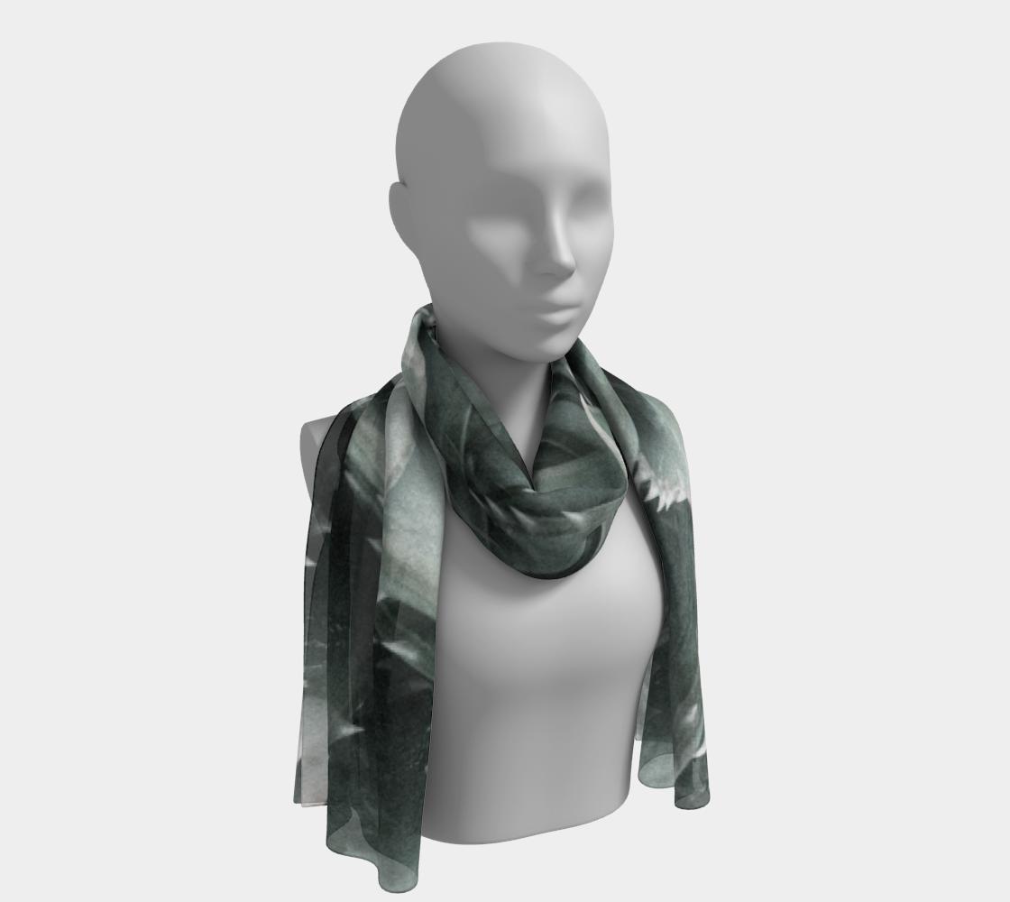 Fractal Aloe long scarf preview