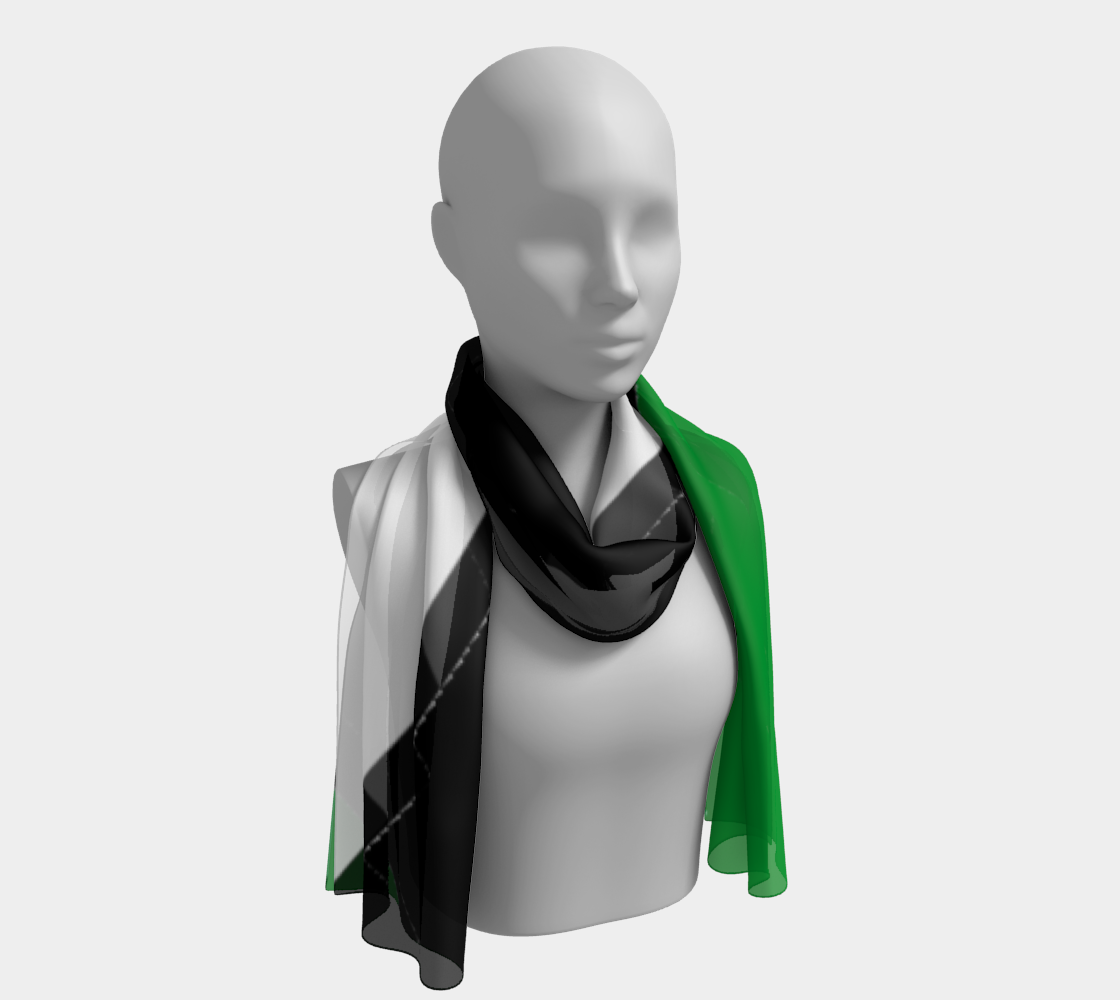 Horidzontal Long Scarf preview