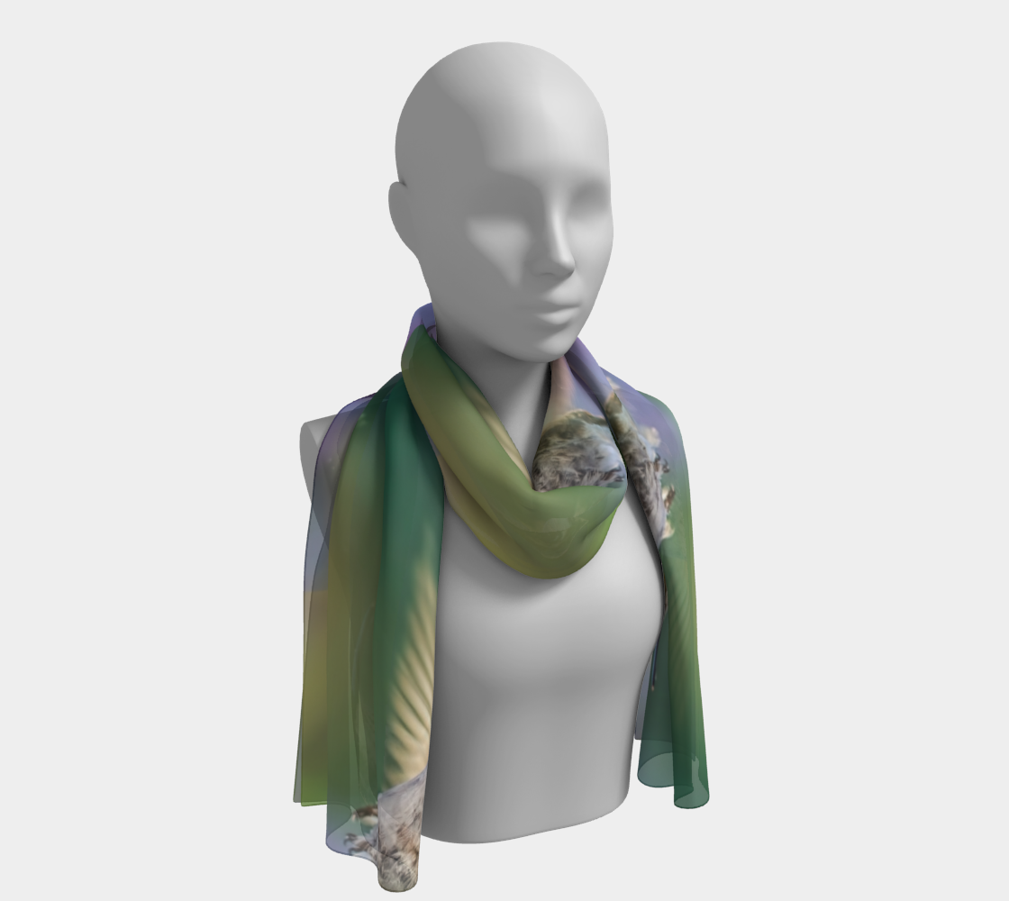 Humming Bird Long Scarf preview