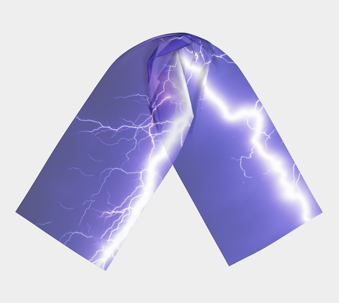 Lightning winter long scarf preview #3
