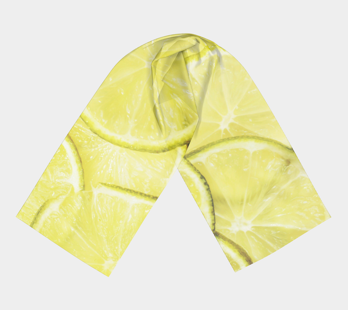 Limes winter long scarf preview #3