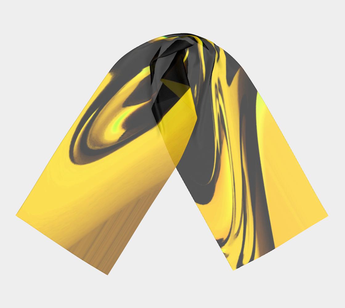 Liquid Sunshine winter long scarf preview #3
