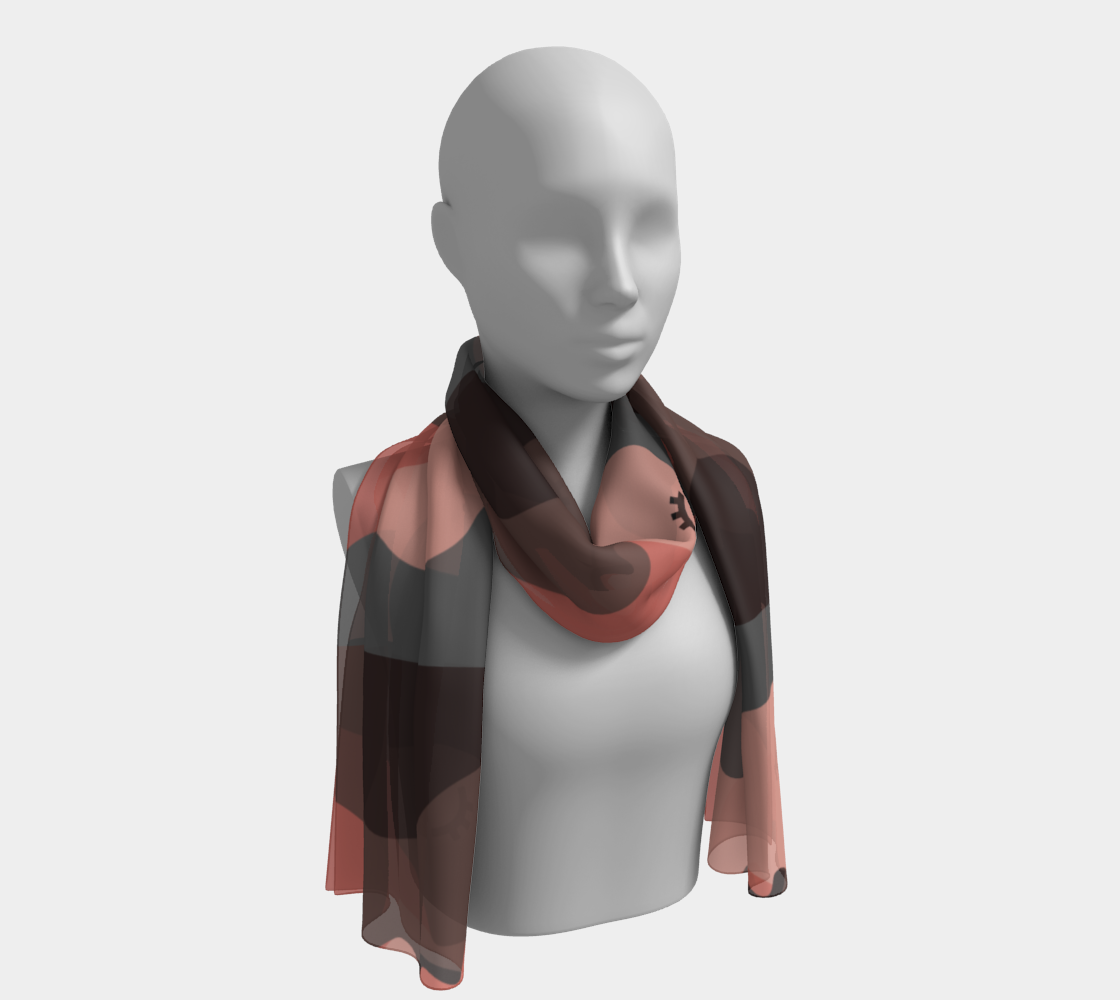 Love Is LGBTQ+ winter long scarf preview #1
