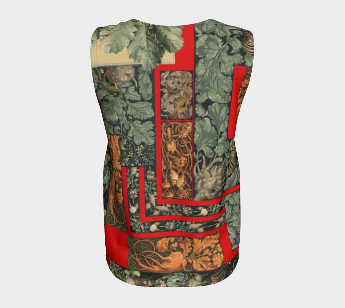 Victorian Vegetables Loose Tank Top preview #6