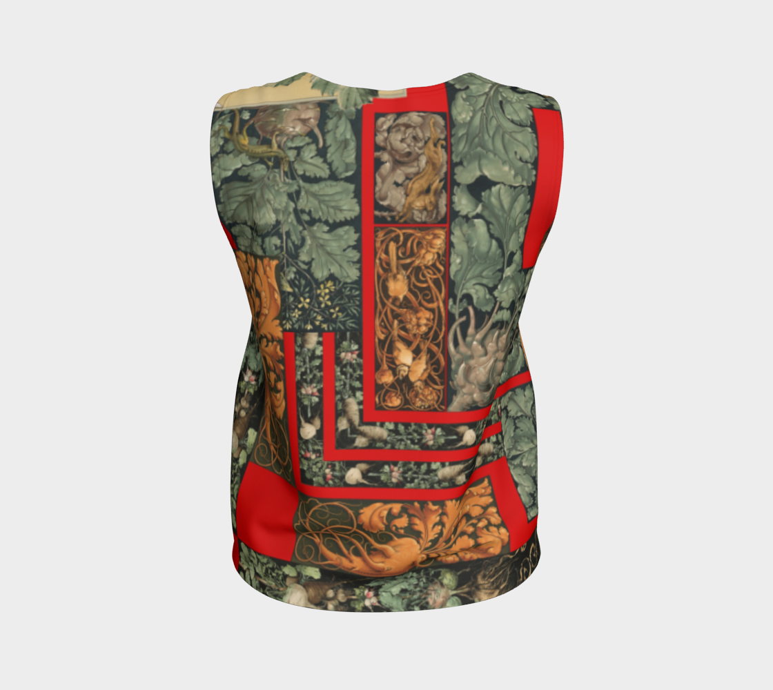Victorian Vegetables Loose Tank Top preview #2
