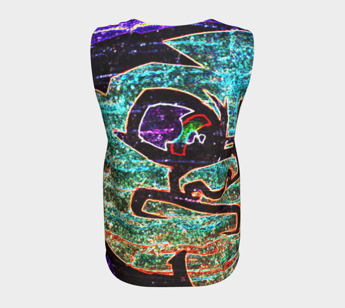Graffiti 7 Loose Tank Top preview #6