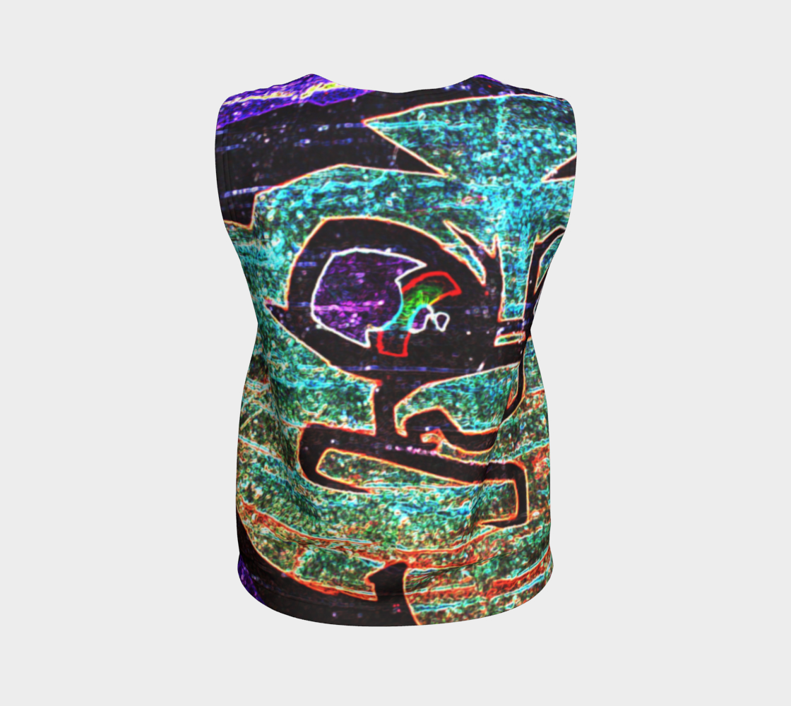 Graffiti 7 Loose Tank Top preview #2