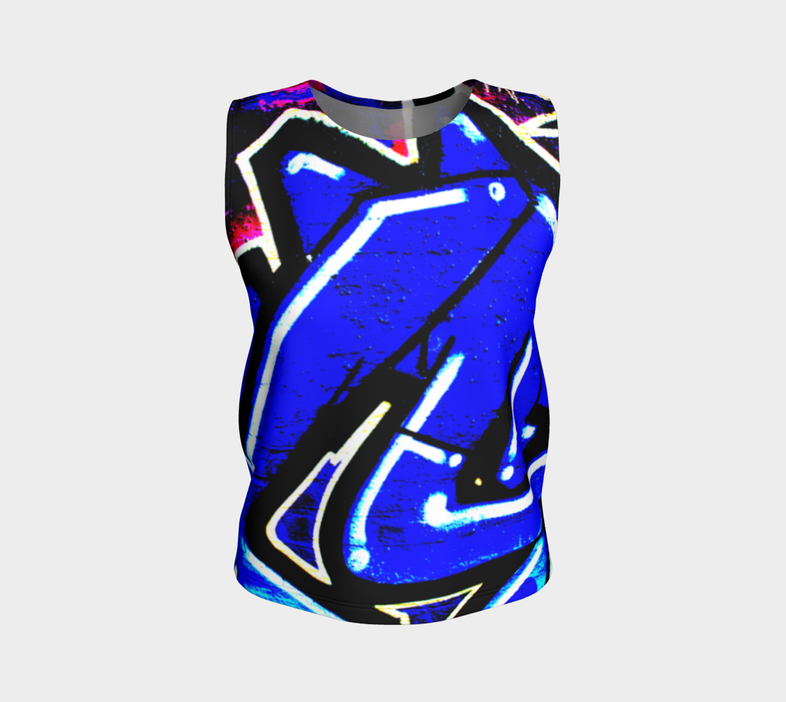 Graffiti 13 Loose Tank Top preview