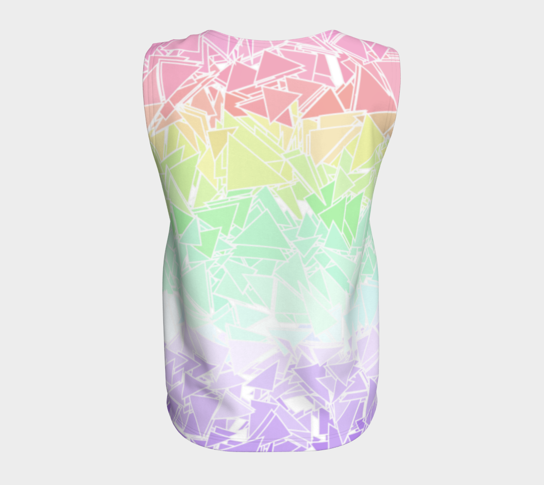 Groovy Boho Triangle Rainbow, 50% of profits donated to the Trevor Project! preview #6