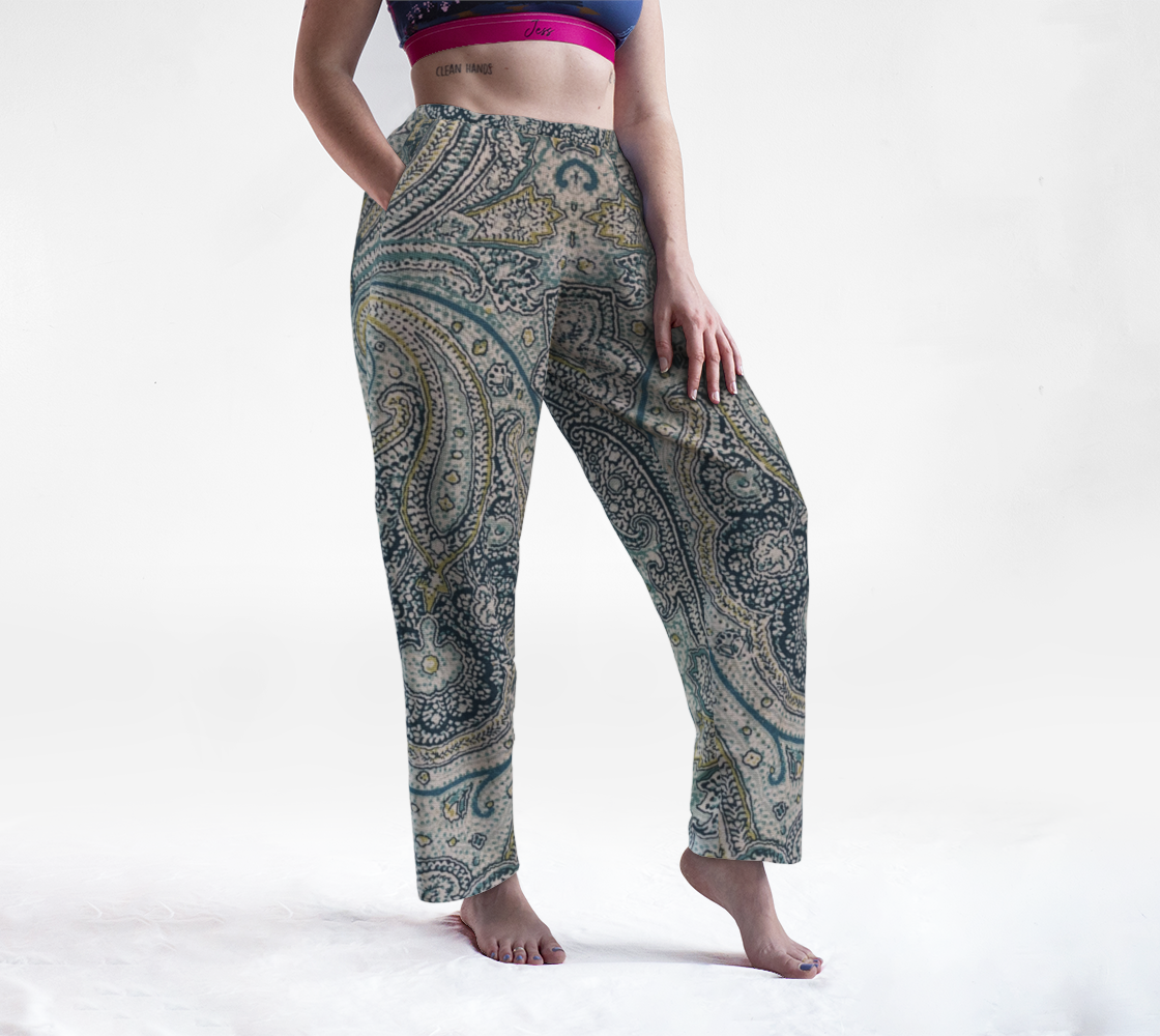 Oversized Paisley preview