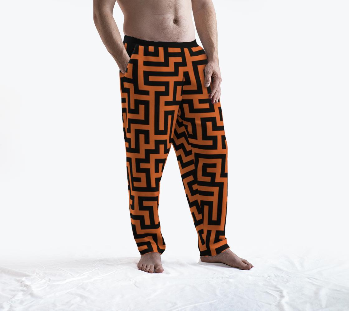 Orange and Black Maze preview #3