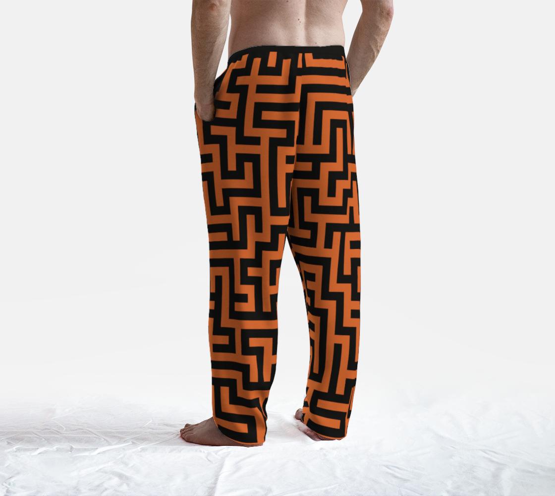 Orange and Black Maze preview #4