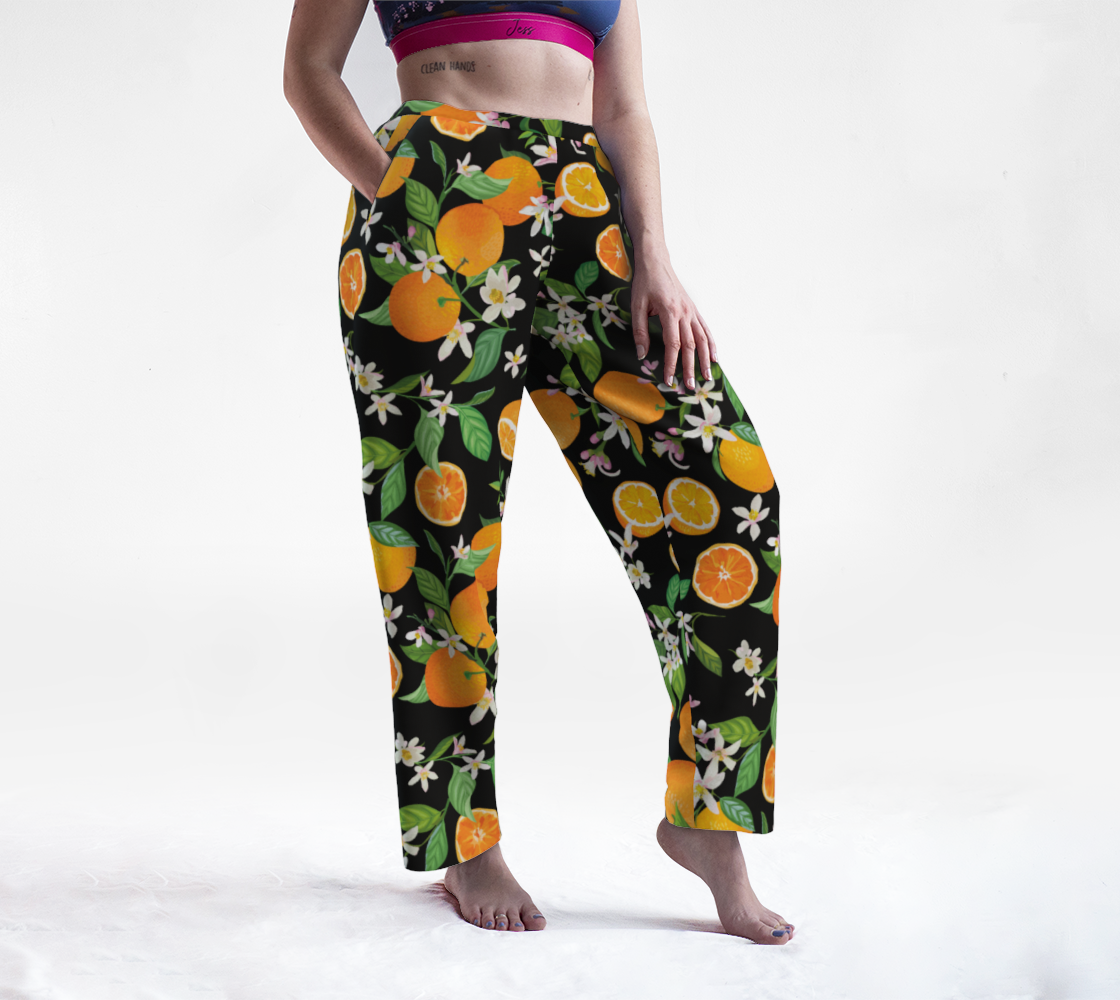 Orange Blossom Lounge Pants preview