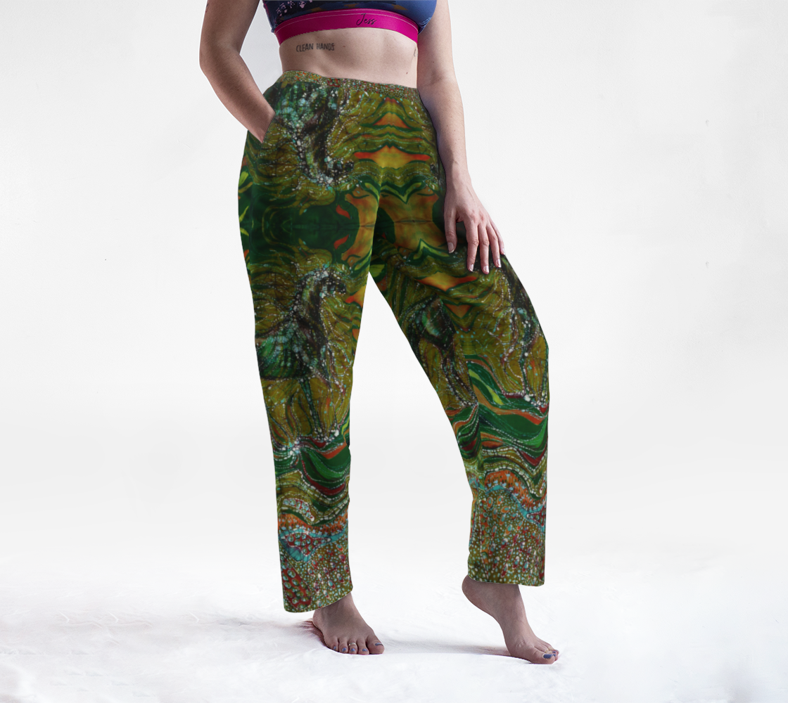 Green Horse Lounge Pants preview