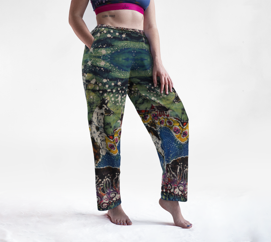 Hills Alive With Llamas Lounge Pants preview