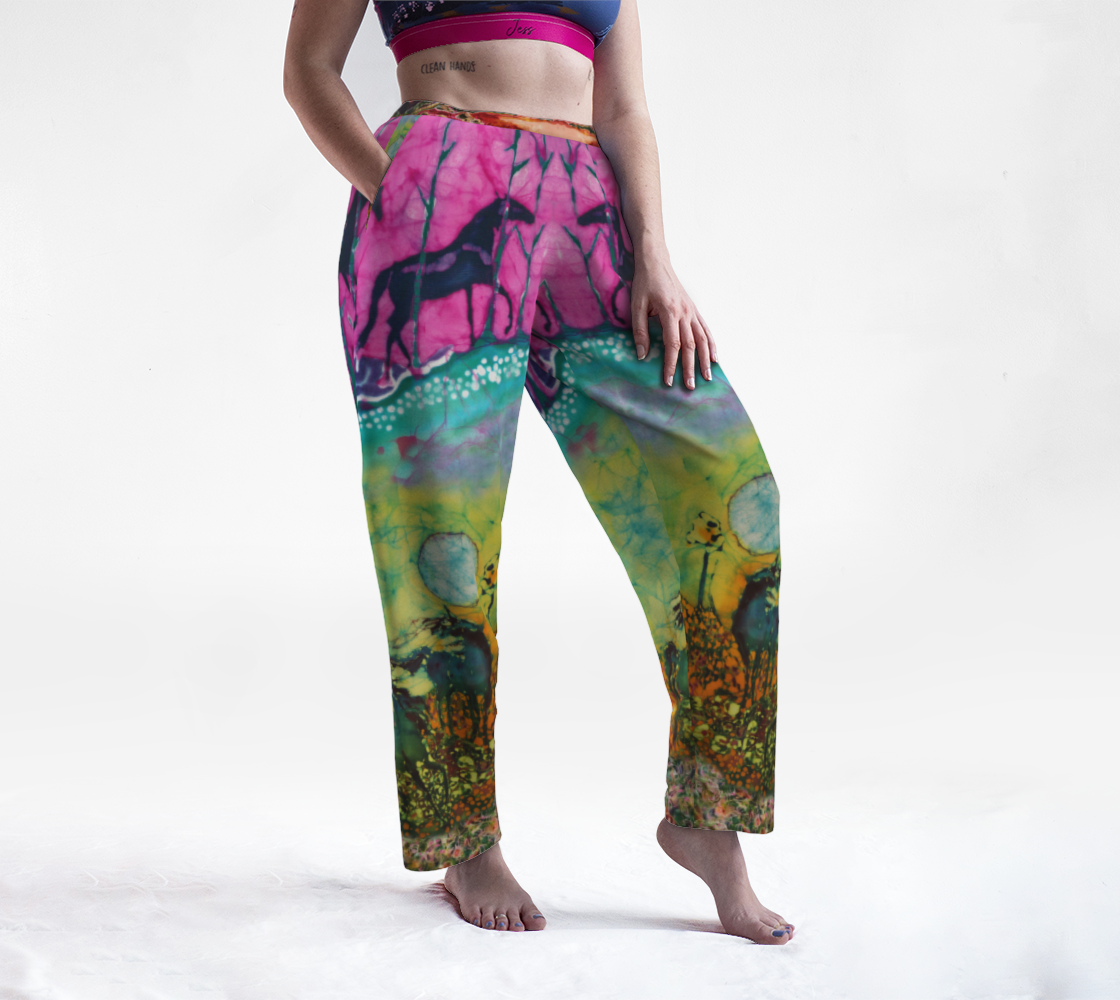 Horses in the Moon Lounge Pants preview