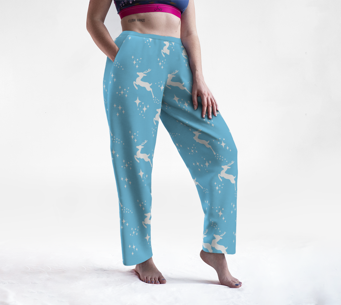 Aperçu de Let It Snow, Deer Lounge Pants