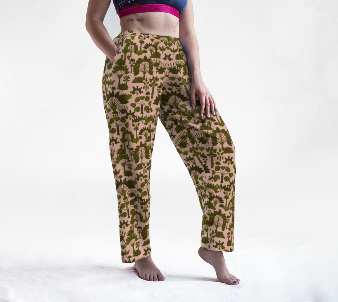 Exotic Garden - Olive Lounge Pants preview