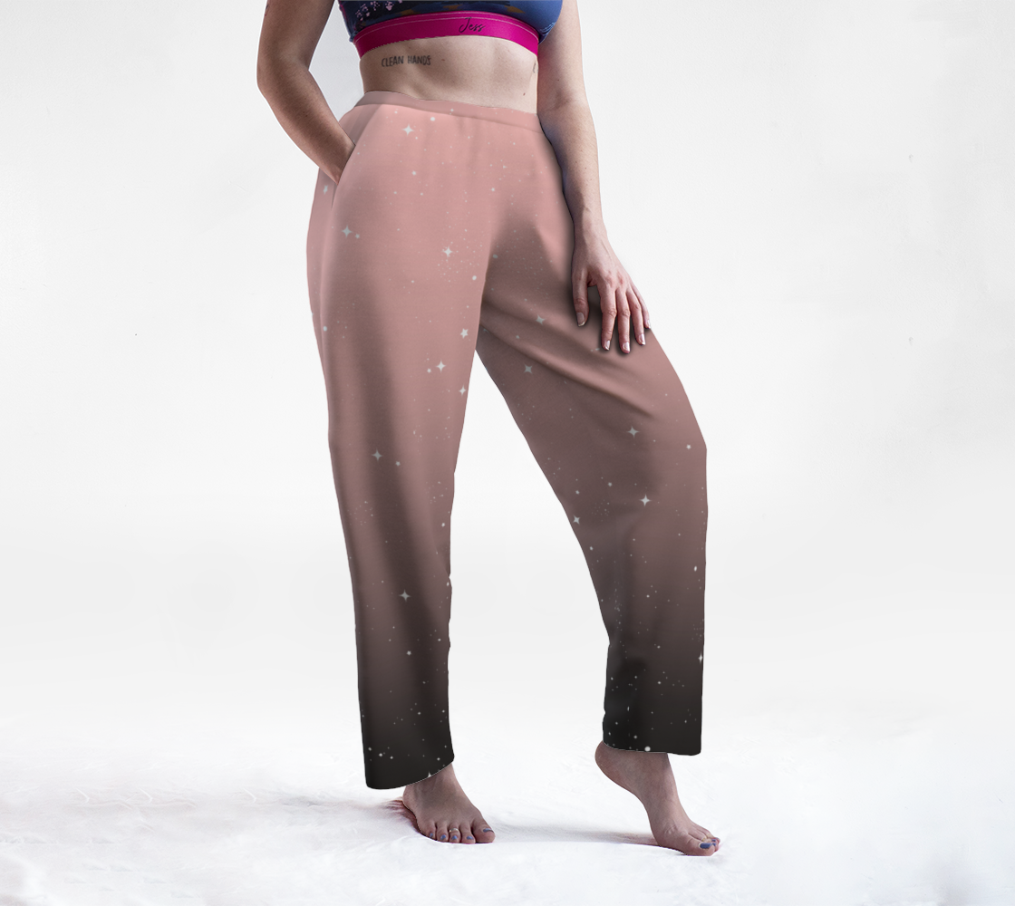 Keep On Shining - Pink Mist Lounge Pants preview