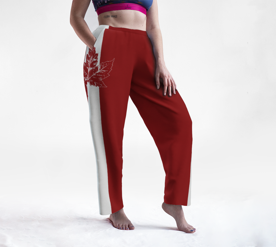 Cool Canada Pants Retro Canada Lounge Pants preview