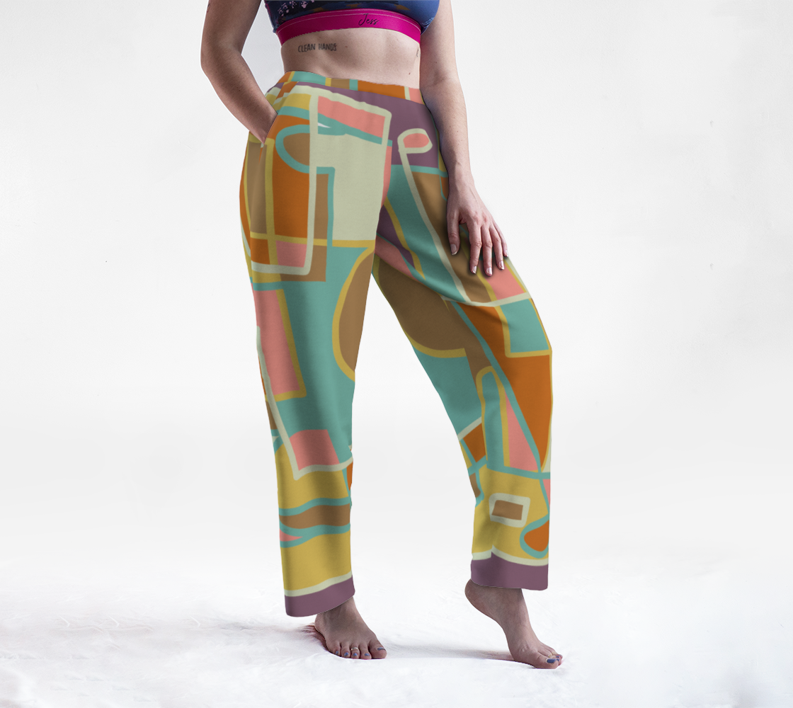 the funky pants to werar at home! preview