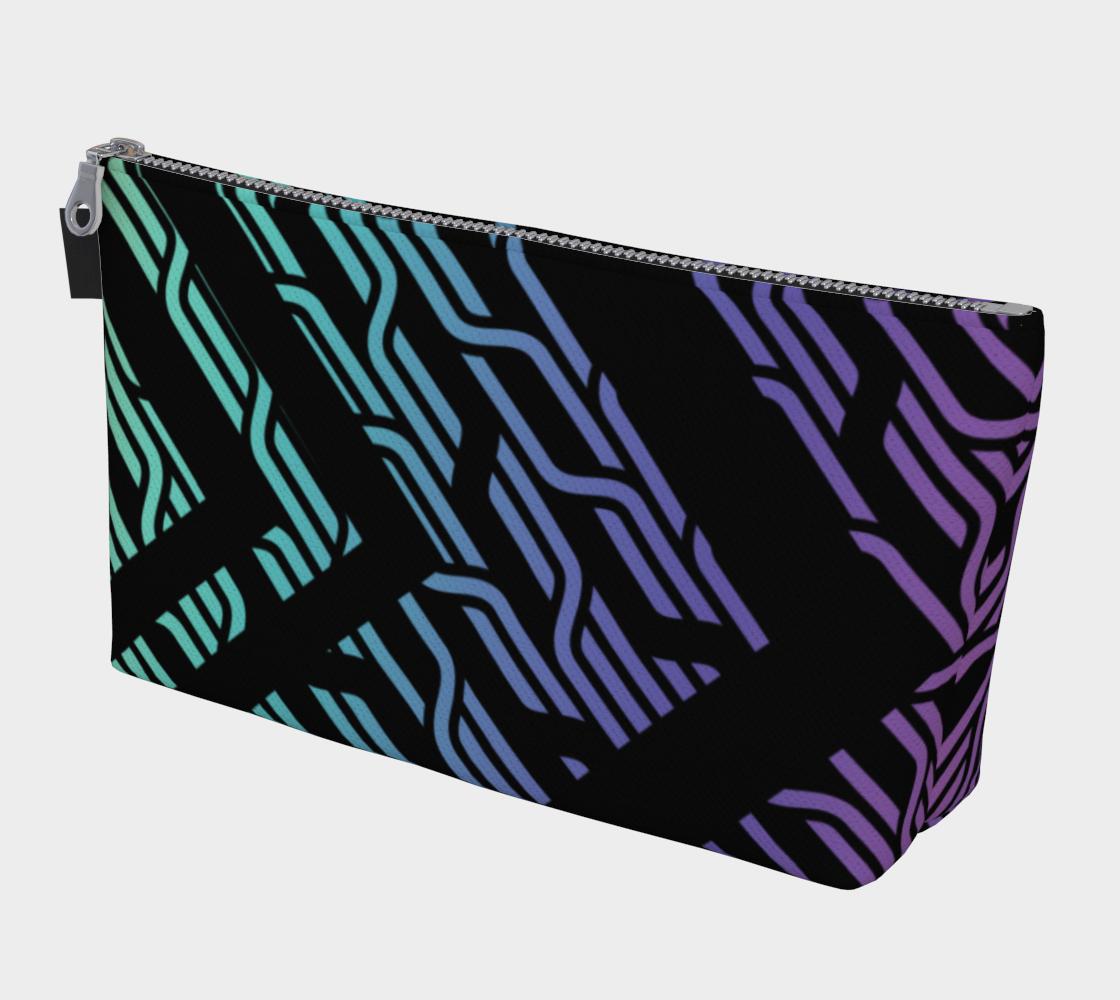 Geometrix - Cable Pastel Ombre Makeup Gear Bag preview