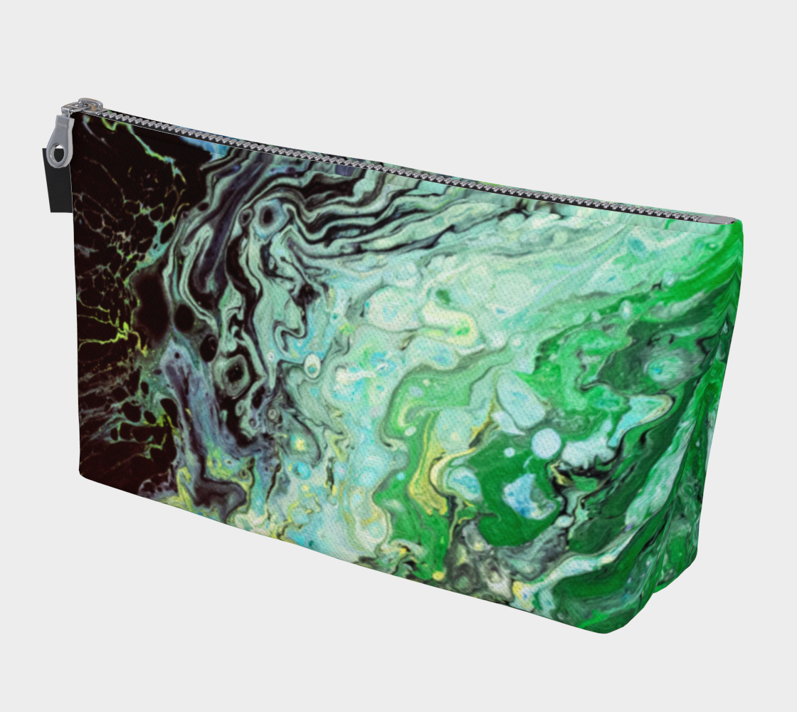 Eye of the Storm Acrylic Pour Art  preview